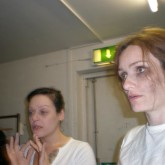 As 'Alice/A' in Cut Throat--part of the 2011 DYSPLA Festival at Theatro Technis London