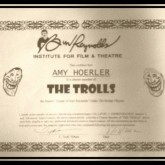 Charter member of The Trolls