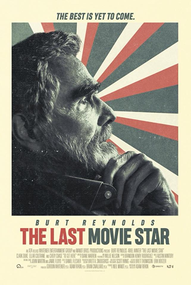 Check out the new poster for The Last Movie Star (formerly Dog Years) 🌟